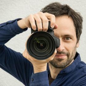 Müller fotografiert